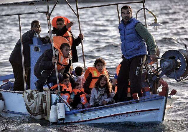 Yunanistan sığınmacı