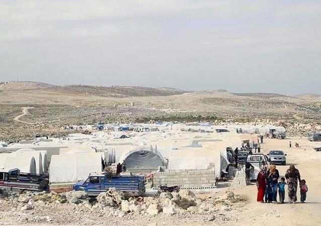 Suriye İdlib çadır kent