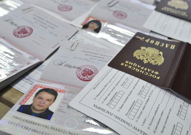 Rusya pasaportu