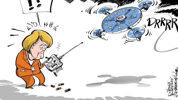 'Eski dostları Merkel'e darbe hazırlığında' - Sputnik Türkiye