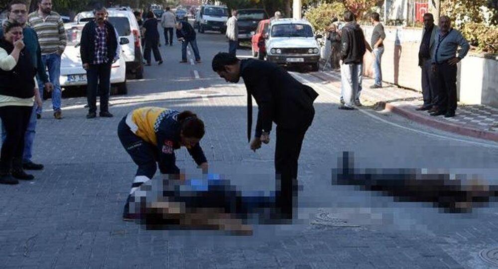 Manisa'da kadın cinayeti.