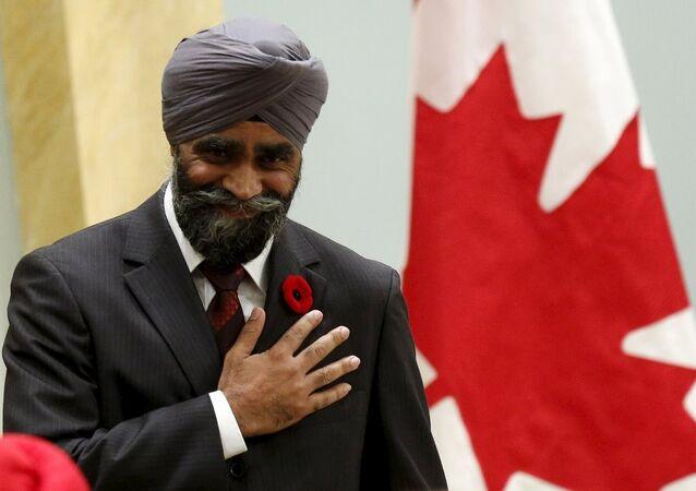 Kanada Ulusal Savunma Bakanı Harjit Sajjan