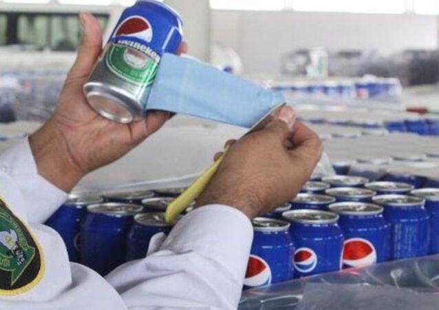 Pepsi etiketi kaplı biralar