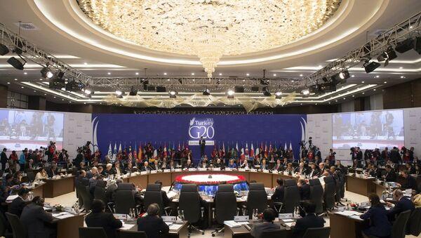 G20 Antalya - Sputnik Türkiye