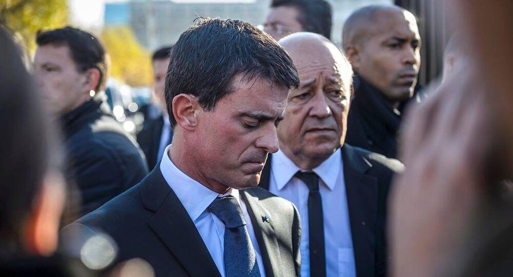 Fransa Başbakanı Manuel Valls