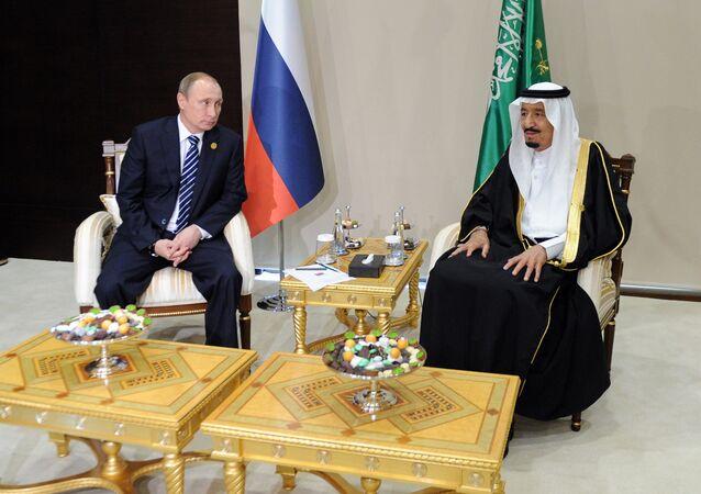 Putin ve Kral Selman G20'de
