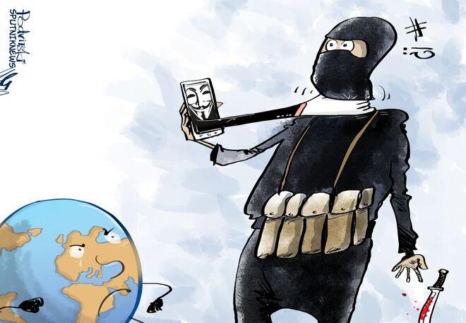 Anonymous'ten İŞİD'e savaş