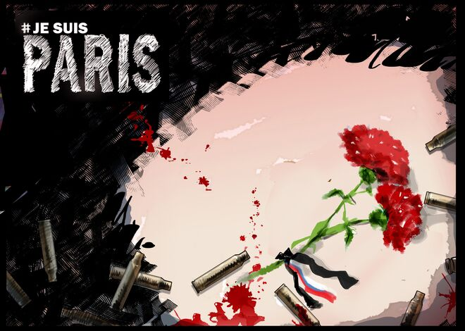 Paris'te cuma akşamı meydana gelen saldırı