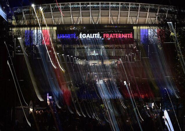 İngiltere'nin Fransa ile tarihi Wembley Stadyumu'nda oynadığı hazırlık maçı