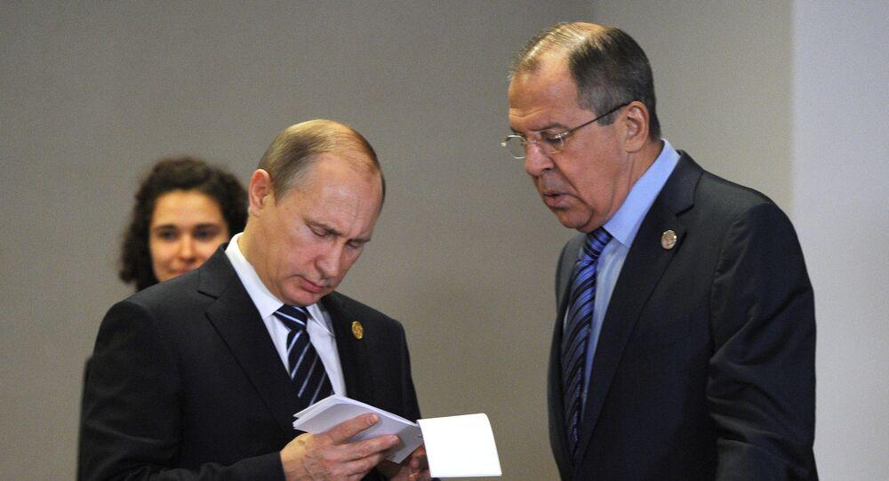 Vladimir Putin - Sergey Lavrov