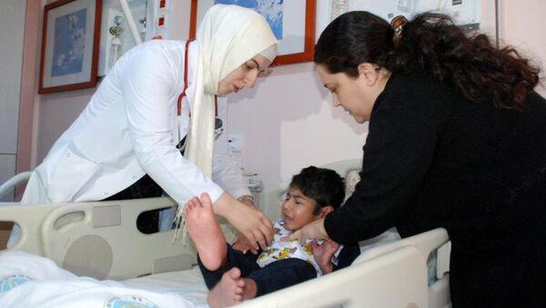Suriyeli çocuk - Sputnik Türkiye