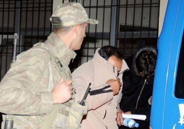 IŞİD tutuklama