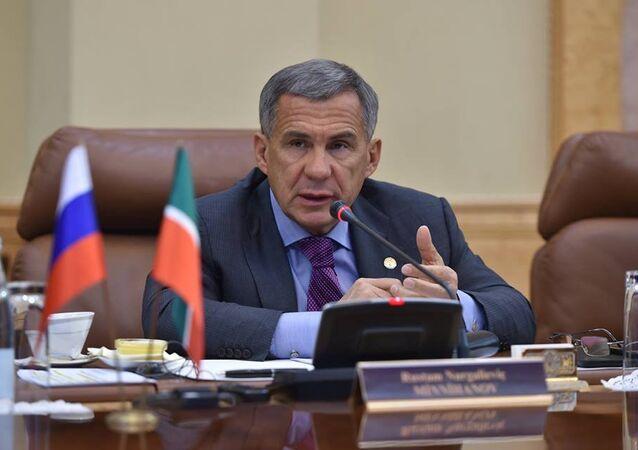 Tataristan Cumhurbaşkanı Rüstem Minnihanov.