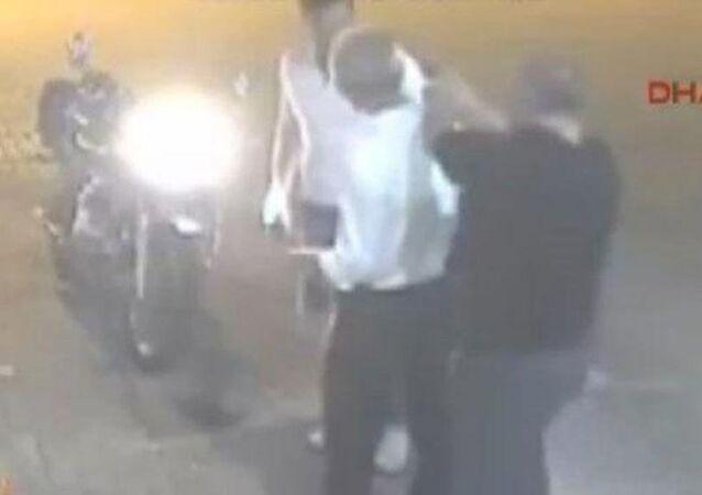 Trafikte tartıştığı motosiklet sürücüsü Ahmet Sülüşoğlu'nu öldüren İstanbul Emniyet Müdür Yardımcısı Celal Yılmaz.