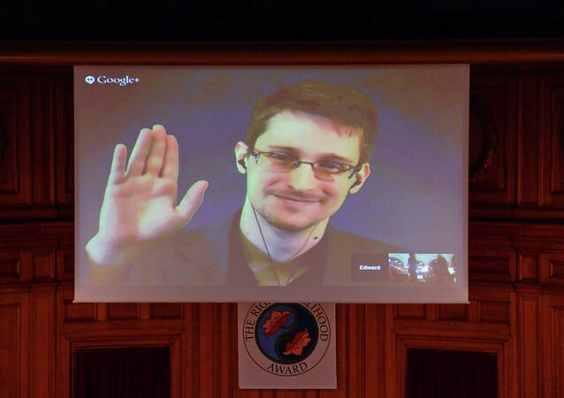 US National Security Agency (NSA) whistleblower Edward Snowden