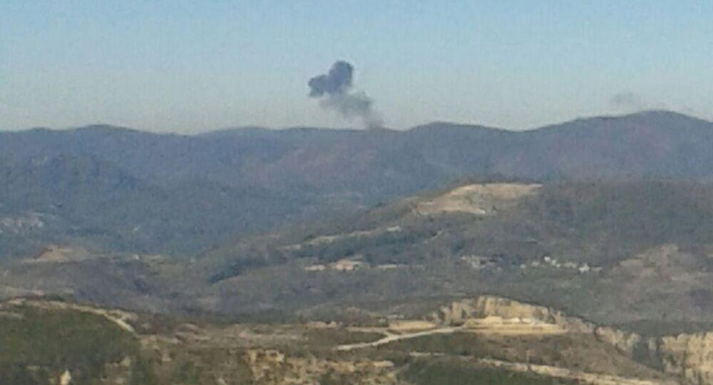 Suriye sınırında düşürülen Rus uçağı