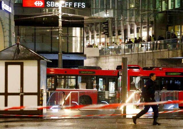 İsviçre, Bern, bomba alarmı