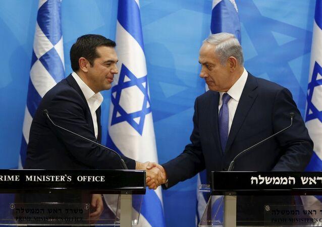 Aleksis Çipras-Benyamin Netanyahu