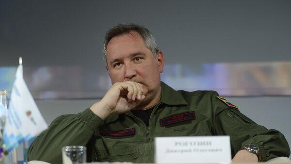 Rusya'nın savunmadan sorumlu Başbakan Yardımcısı Dmitriy Rogozin - Sputnik Türkiye