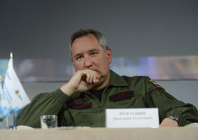 Rusya'nın savunmadan sorumlu Başbakan Yardımcısı Dmitriy Rogozin