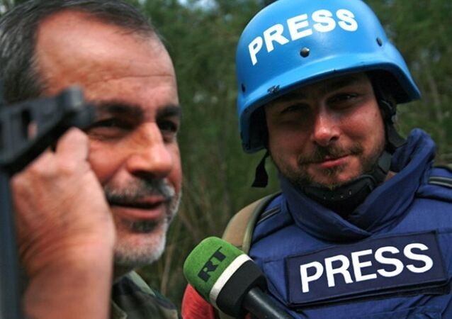 Suriye'de saldırıya uğrayan Rus gazeteciler