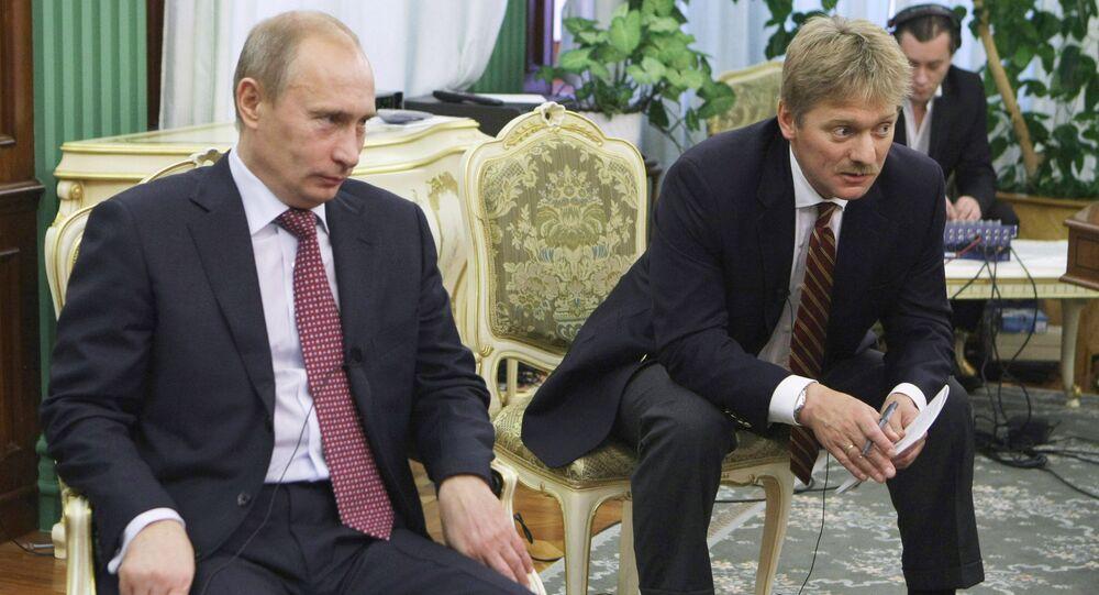Rusya Devlet Başkanı Vladimir Putin - Kremlin Sözcüsü Dmitriy Peskov