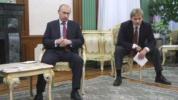 Rusya Devlet Başkanı Vladimir Putin - Kremlin Sözcüsü Dmitriy Peskov - Sputnik Türkiye