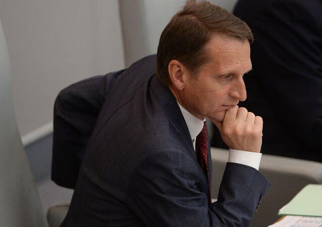 Duma Başkanı Sergey Narışkin