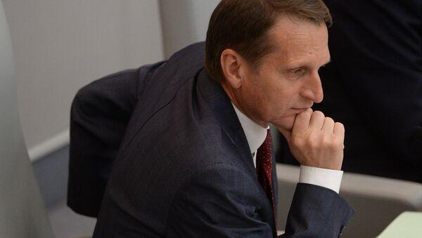 Duma Başkanı Sergey Narışkin - Sputnik Türkiye