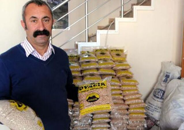 Ovacık İlçesi'nin Komünist Partili Belediye Başkanı Fatih Mehmet Maçoğlu