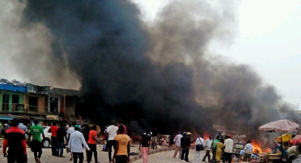 Nijerya'nın Kano kentinde, Şiilerin düzenlediği geçit töreni sırasında düzenlenen intihar saldırısı.