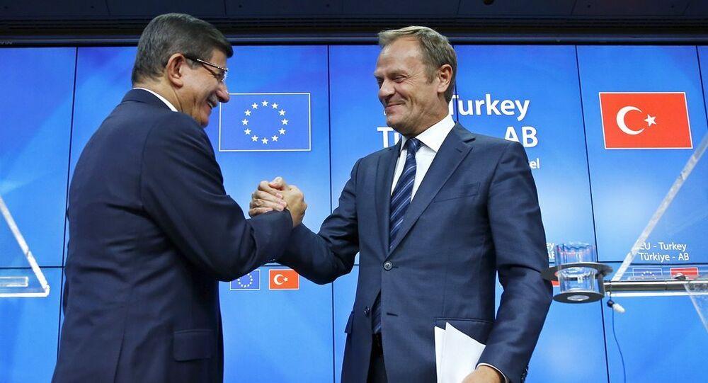Ahmet Davutoğlu-Donald Tusk