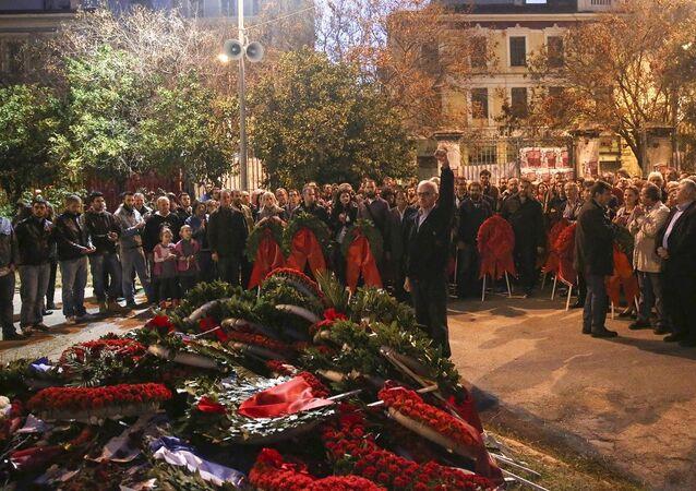 Yunanistan'da 17 Kasım anması - Politeknik