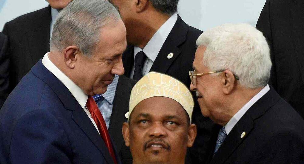 İsrail Başbakanı Benyamin Netanyahu- Filistin lideri Mahmud Abbas