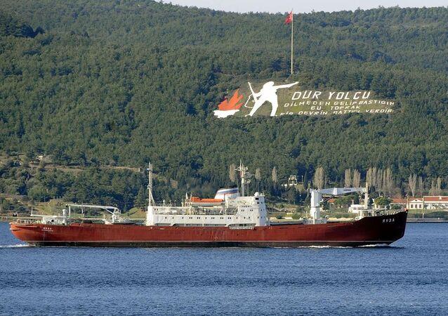 Rus savaş gemisi - Çanakkale Boğazı