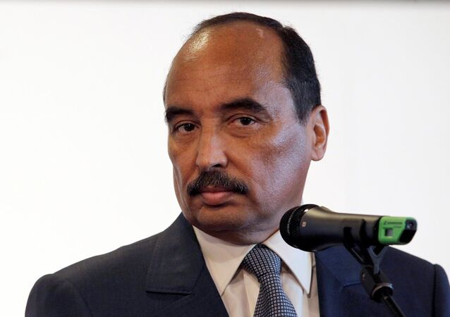 Moritanya Devlet Başkanı Muhammed Ould Abdülaziz