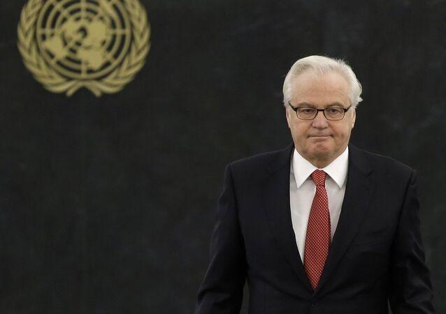 Rusya'nın BM Daimi Temsilcisi Vitaliy Çurkin
