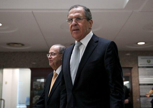 Rusya Dışişleri Bakanı Sergey Lavrov - Güney Kıbrıs Dışişleri Bakanı Yannis Kasulidis