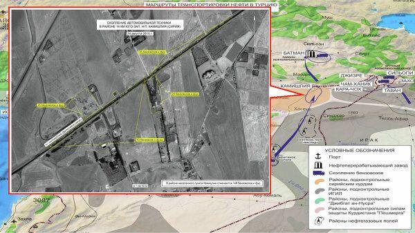 Suriye'nin Kamışlı kenti yakınlarında otomobil yığınağı.