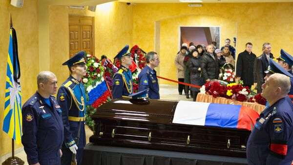 Oleg Peşkov'un cenaze töreni - Sputnik Türkiye