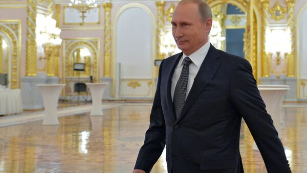Putin, Federal Meclis'e hitap etti. - Sputnik Türkiye