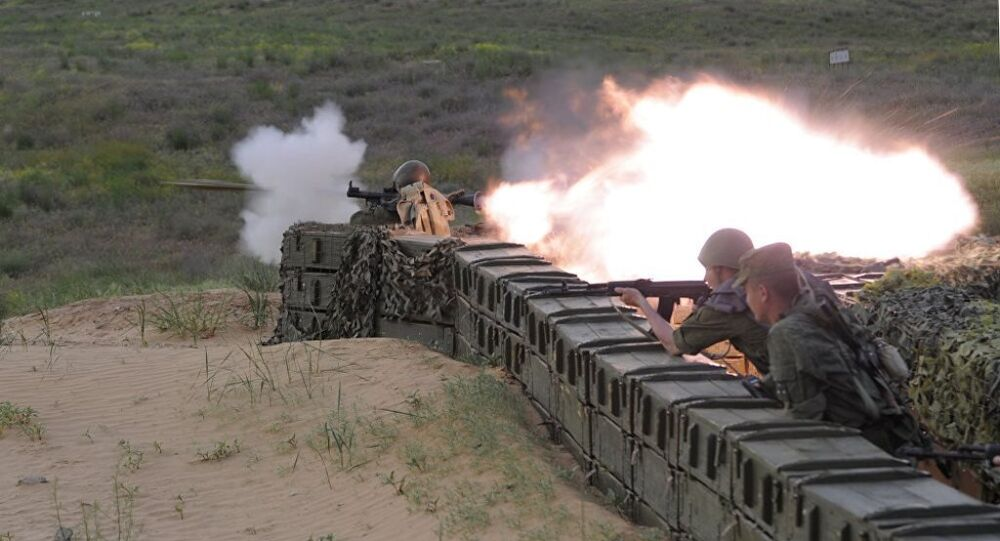 Rusya ordusundan Hazar kıyısında S-400 tatbikatı