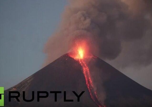 Nikaragua- volkan