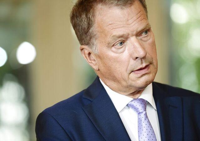 Finlandiya Cumhurbaşkanı Sauli Niinisto