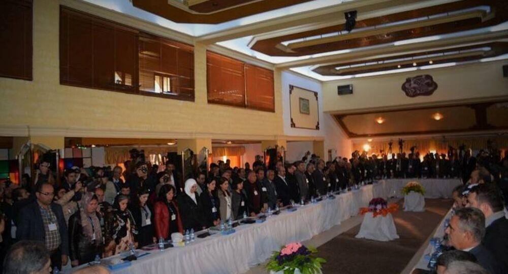 'Demokratik Suriye' kongresi
