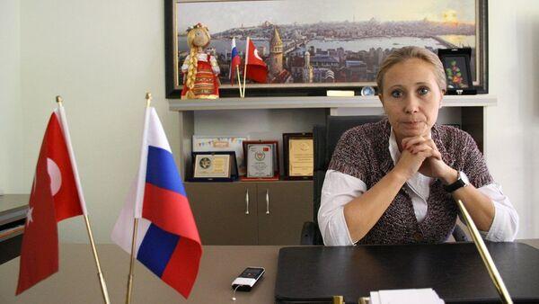 Rus Sanat ve Kültür Derneği Başkanı İrina Balcı - Sputnik Türkiye