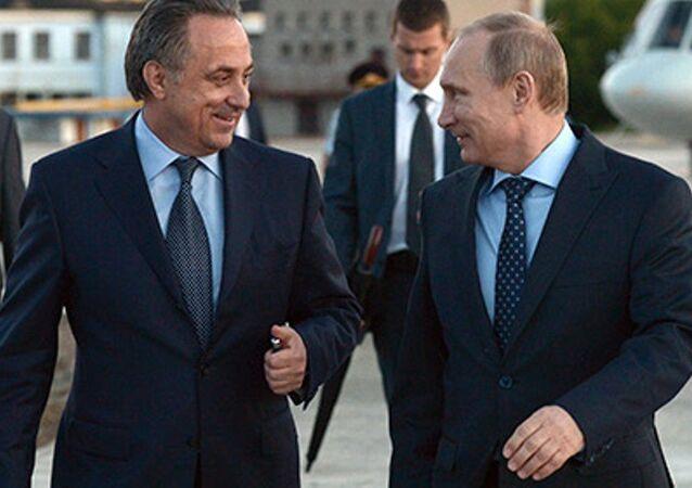 Vitaliy Mutko - Vladimir Putin