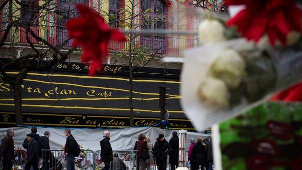 Paris saldırıları- Bataclan - Sputnik Türkiye