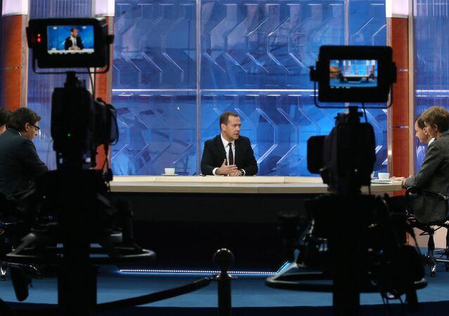 Rusya Başbakanı Dimtriy Medvedev