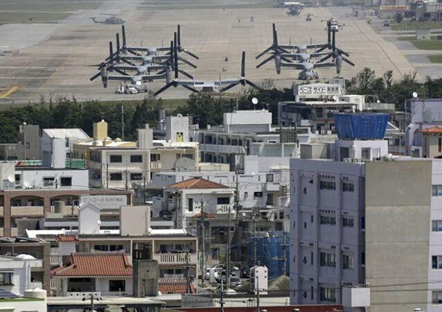 Japonya'nın Okinawa Adası'ndaki ABD askeri üssü
